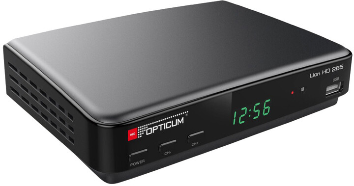 Opticum Lion HD 265 Plus, DVB-T2