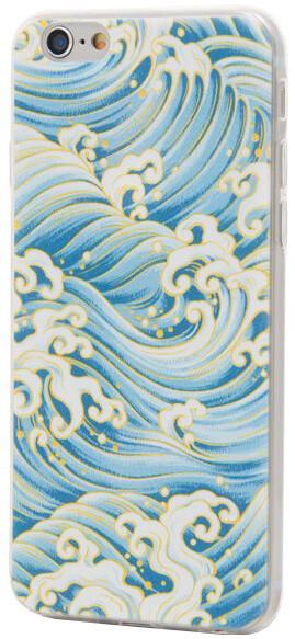 EPICO pružný plastový kryt pro iPhone 6/6S WAVY