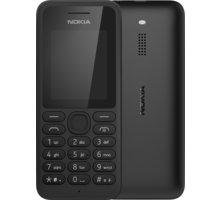 Nokia 130, Dual Sim, černá + Zdarma CulCharge MicroUSB kabel - přívěsek (v ceně 249,-)