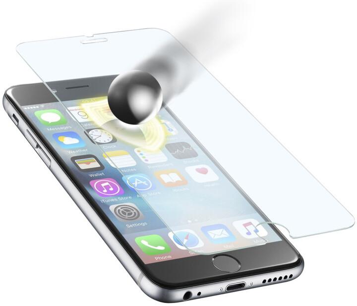 CellularLine Glass TETRA FORCE GLASS ochranné tvrzené sklo pro Apple iPhone 6, prémiové