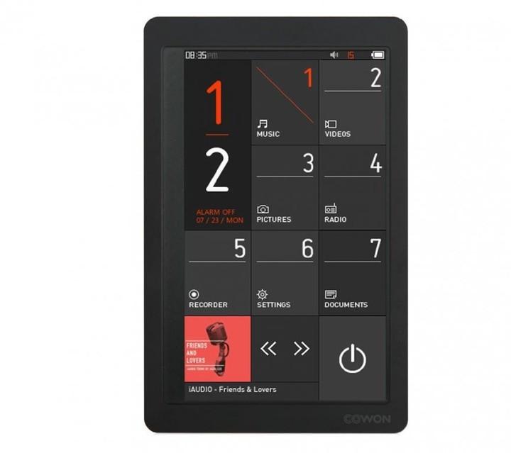 Cowon X9 - 16GB, černá