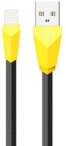 Remax Alien datový kabel s lightning, 1m, černo-žlutá