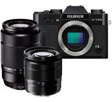 Fujifilm X-T20 + XC 16-50mm + XC 50-230mm, černá - 16543339