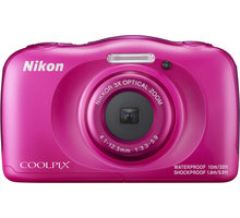 Nikon Coolpix W100, růžová + Backpack kit - VQA012K001