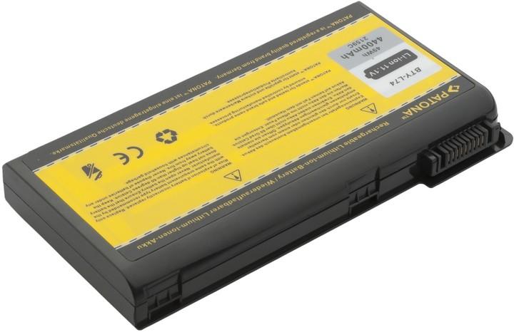 Patona baterie pro MSI BTY-L74 4400mAh 11,1V