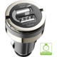CellularLine mini autonabíječka Dual Plus s 2xUSB výstupem, 21W/4.2 A max, černá