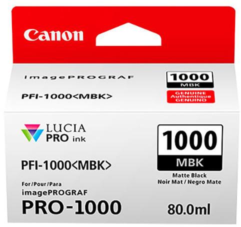 Canon PFI-1000MBK, matte black