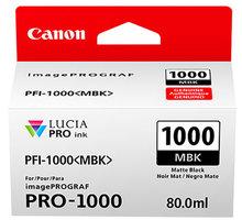 Canon PFI-1000MBK, matte black - 0545C001