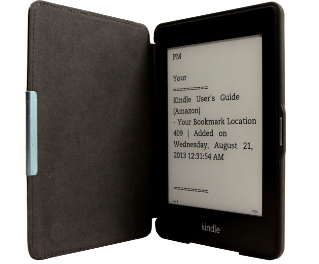 C-TECH PROTECT pouzdro pro Amazon Kindle PAPERWHITE, hardcover, AKC-05, černá