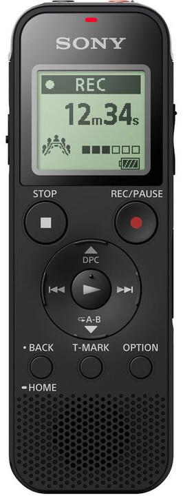 SONY ICDPX470, 4GB, černá