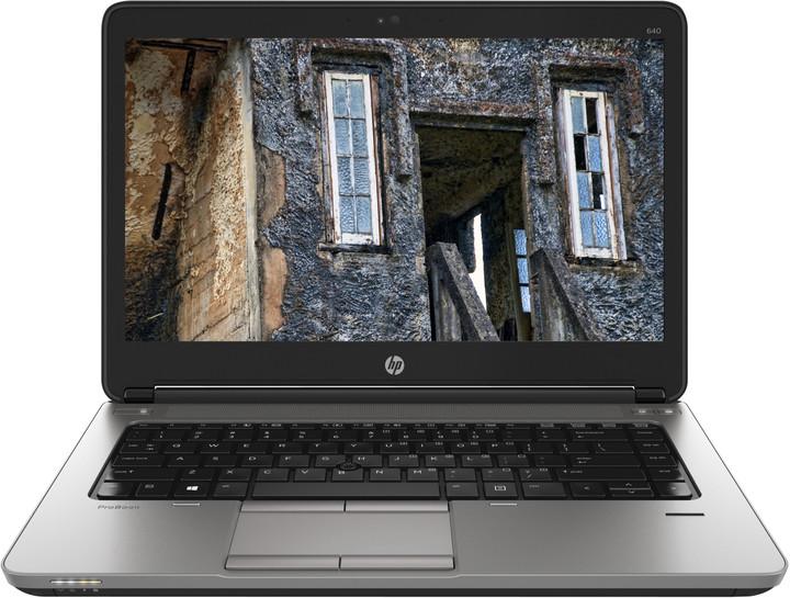 """HP ProBook 640 G1, černá  + NB Batoh HP Select 75 - 16"""" bílá v ceně 790 Kč"""