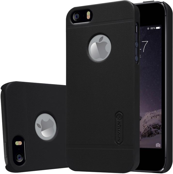 Nillkin Super Frosted Zadní Kryt Black pro iPhone 5/5S/SE