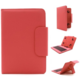 """C-TECH PROTECT NUTKC-01, pouzdro s klávesnicí pro 7-7.85"""", červená"""