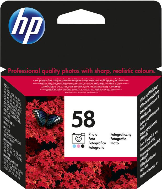 HP C6658AE, no.58, barevná