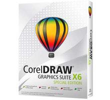 CorelDRAW Graphic Suite X6 Special Edition CZ - CDGSX6SPCZPLEU