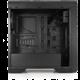 SilentiumPC Gladius M35, okno, černá