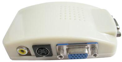 PremiumCord převodník signálu z PC ->TV cinch + s-video konektory