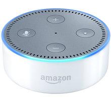 Amazon Echo DOT - reproduktor s umělou inteligencí, bílá (EU distribuce) + redukce EU