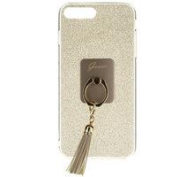 Guess Ring TPU Pouzdro Gold pro iPhone 7 Plus - GUHCP7PRSGO