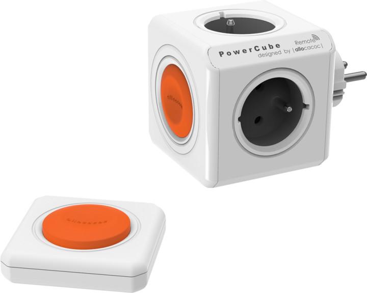 PowerCube ORIGINAL REMOTE set multifunkční zásuvkový systém 4x zásuvka + ovladač