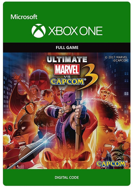Ultimate Marvel vs Capcom 3 (Xbox ONE) - elektronicky