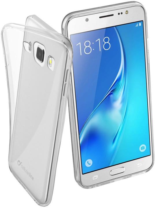 CellularLine Fine zadní kryt pro Samsung Galaxy J5 (2016), extratenký, bezbarvý