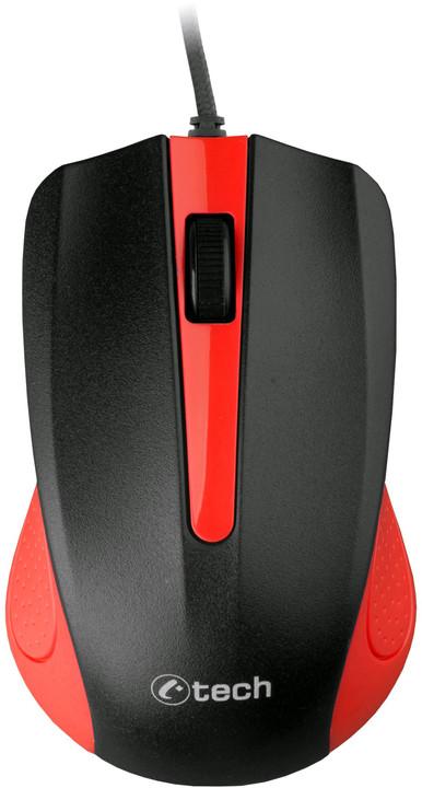 C-TECH WM-01R, červená