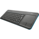 Trust Veza Wireless Touchpad Keyboard, CZ/SK