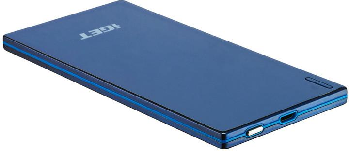 iGET POWER Slim B-3500B, 3500mAh, modrá