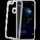 CELLY Laser - lemování s kovovým efektem TPU pouzdro pro Huawei P10 Lite, stříbrné