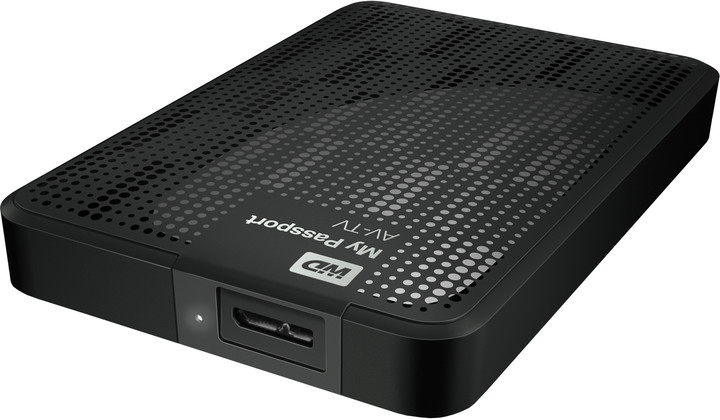 WD My Passport AV-TV - 1TB