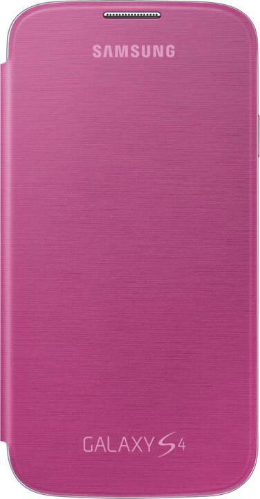 Samsung flip EF-FI950BPEG pro Galaxy S 4, růžová
