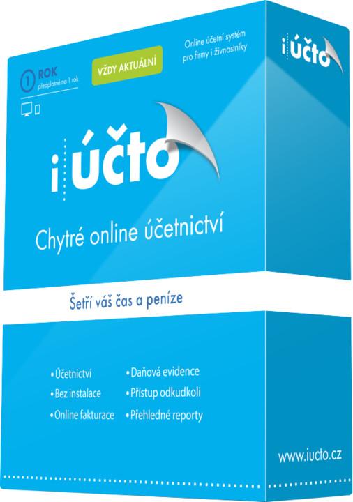iÚčto Online účetní systém pro firmy i živnostníky na 1 rok