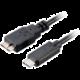 Akasa SuperSpeed+ USB 3.1, Type-C na Micro B, 100cm, černá