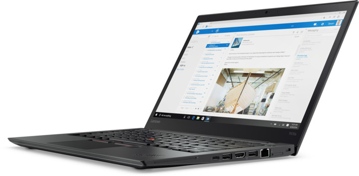 Lenovo ThinkPad T470s, černá