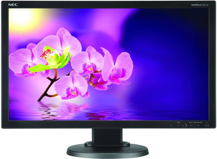 "NEC MultiSync E231W, černá - LED monitor 23"""