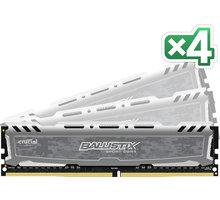 Crucial Ballistix Sport LT 16GB (4x4GB) DDR4 2400 CL 16 - BLS4C4G4D240FSB