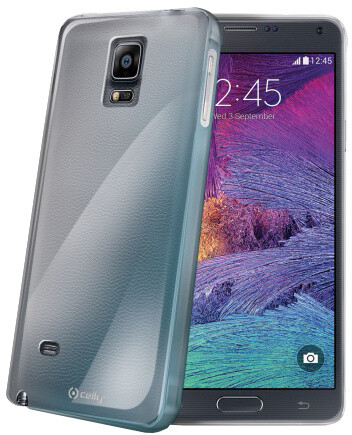 CELLY Gelskin pro Samsung Galaxy Note 4, bezbarvé
