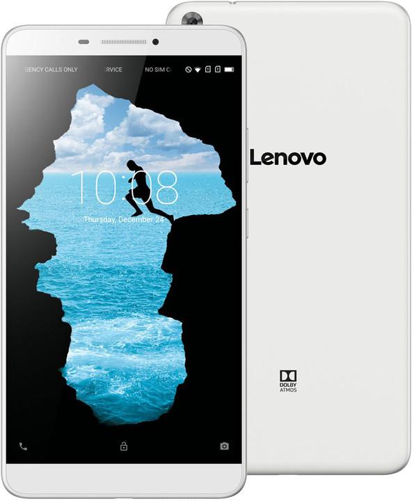 "Lenovo Phab 7"" HD - 16GB, LTE, bílá"