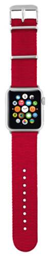 Trust náramek pro Apple Watch 42mm, červená