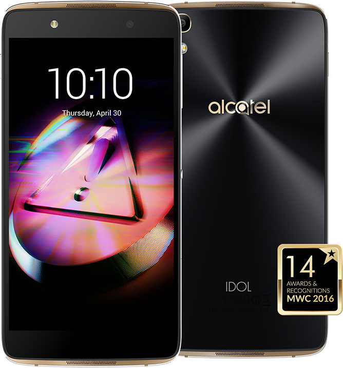 ALCATEL OT-6055K IDOL 4 - VR BOX , zlatá