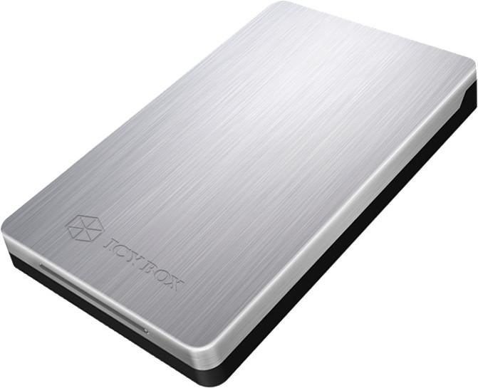 ICY BOX IB-234-U31, stříbrná