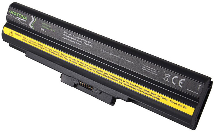 Patona baterie pro SONY VAIO VGP-BPL13/BPS13 5200mAh Li-Ion 11,1V