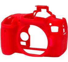 Easy Cover silikonový obal Reflex Silic pro Canon 760D, červená - ECC760DR