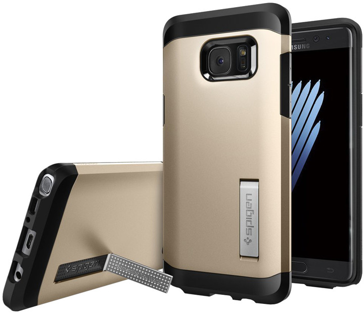Spigen Tough Armor pro Galaxy Note 7, champagne gold