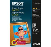 Epson Foto papír Paper Glossy, 10x15 cm, 100 listů, 200g/m2, lesklý - C13S042548