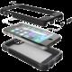 Tech21 Patriot 360° ochranný kryt pro Apple iPhone 5/5S/SE, odnímatelný klip na opasek, černá