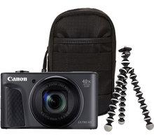 Canon PowerShot SX730 HS, černá - Travel kit - 1791C016