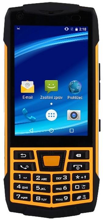 CUBE1 T1C - 8GB, Dual Sim, černo/žlutá