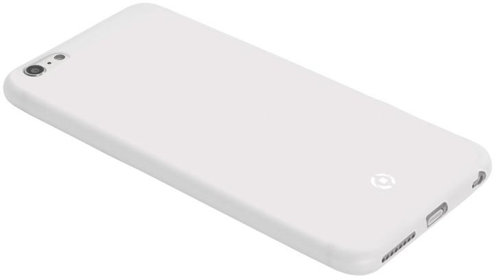 CELLY pouzdro Frost pro Apple iPhone 5/SE, TPU, 0,29mm - bílá